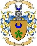 Berke Family Crest from Germany