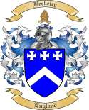 Berkeley Family Crest from England