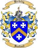 Berkeley Family Crest from Scotland