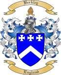 Berkley Family Crest from England