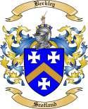 Berkley Family Crest from Scotland
