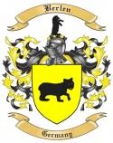Berlen Family Crest from Germany