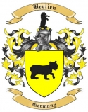 Berlien Family Crest from Germany