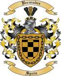 Bermudez Family Crest from Spain