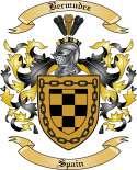 Bermudez Family Crest from Spain