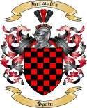 Bermudiz Family Crest from Spain2