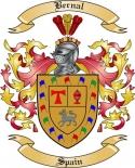 Bernal Family Crest from Spain2