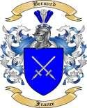 Bernard Family Crest from France
