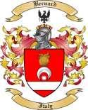 Bernard Family Crest from Italy2