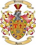 Bernard Family Crest from Spain3
