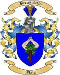 Bernardello Family Crest from Italy