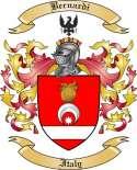 Bernardi Family Crest from Italy2