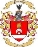 Bernardis Family Crest from Italy2