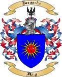 Bernardo Family Crest from Italy3