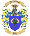 Bernardoi Family Crest from Italy