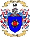 Bernardotti Family Crest from Italy2