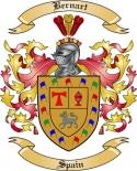 Bernart Family Crest from Spain2