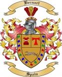 Bernart Family Crest from Spain