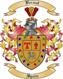 Bernat Family Crest from Spain2