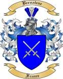 Bernatene Family Crest from France