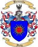 Bernaudo Family Crest from Italy