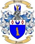 Bernette Family Crest from France