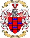 Berogan Family Crest from Germany
