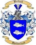 Bertaud Family Crest from Switzerland