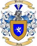 Berteri Family Crest from Italy