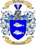 Berthoud Family Crest from Switzerland