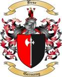 Bese Family Crest from Germany