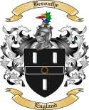 Besouthe Family Crest from England