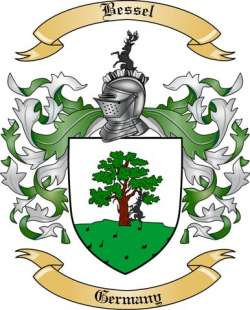 Bessel Family Crest from Germany