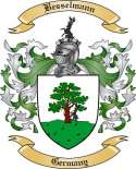 Besselmann Family Crest from Germany