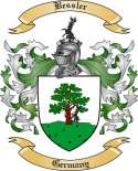 Bessler Family Crest from Germany