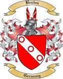 Besten Family Crest from Germany