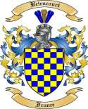 Betencourt Family Crest from France