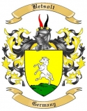 Betsolt Family Crest from Germany