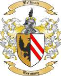 Bettman Family Crest from Germany