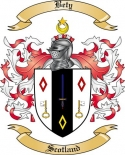 Bety Family Crest from Scotland