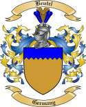 Beutel Family Crest from Germany