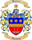 Beyerre Family Crest from Germany