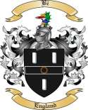 Bi Family Crest from England