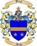 Biagi Family Crest from Italy