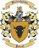 Bialoshytska Family Crest from Poland