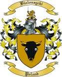 Bialoszycki Family Crest from Poland