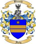 Bianchi Family Crest from Italy
