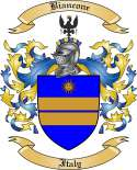 Biancone Family Crest from Italy