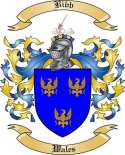 Bibb Family Crest from Wales