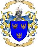 Bibbey Family Crest from Wales